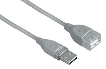 Hama Cable USB to USB Grey 0.25m