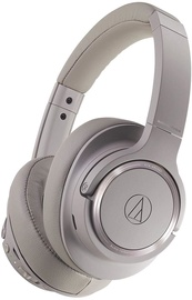 Audio-Technica ATH-SR50BT On-Ear Headphones Brown Grey