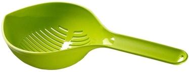 Curver Colander With Handle Kitchen Essentials Green