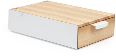 Umbra Reflexion Jewelry Box White/Wood