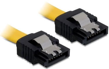 Delock Cable SATA/SATA Yellow 0.5m