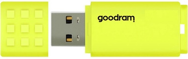 USB atmintinė Goodram UME2 Yellow, USB 2.0, 128 GB