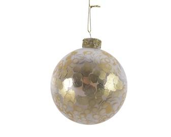 Jõulupuu ehe Kaemingk 067415 Gold, 80 mm, 3 tk