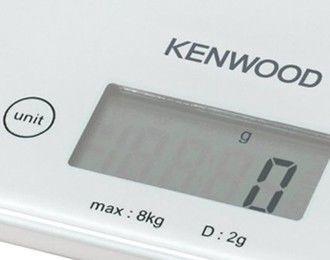 Elektrooniline köögikaal Kenwood DS401, valge