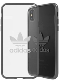 Adidas Clear Back Case For Apple iPhone X/XS Transparent/Black