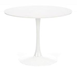 Pusdienu galds Halmar Slim, balta, 1000x1000x750mm