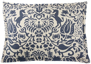 Home4you Floor Cushion 58x42xH18cm Unicorn Blue