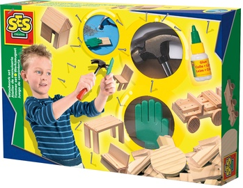 SES Creative Children's Woodwork Set 00943