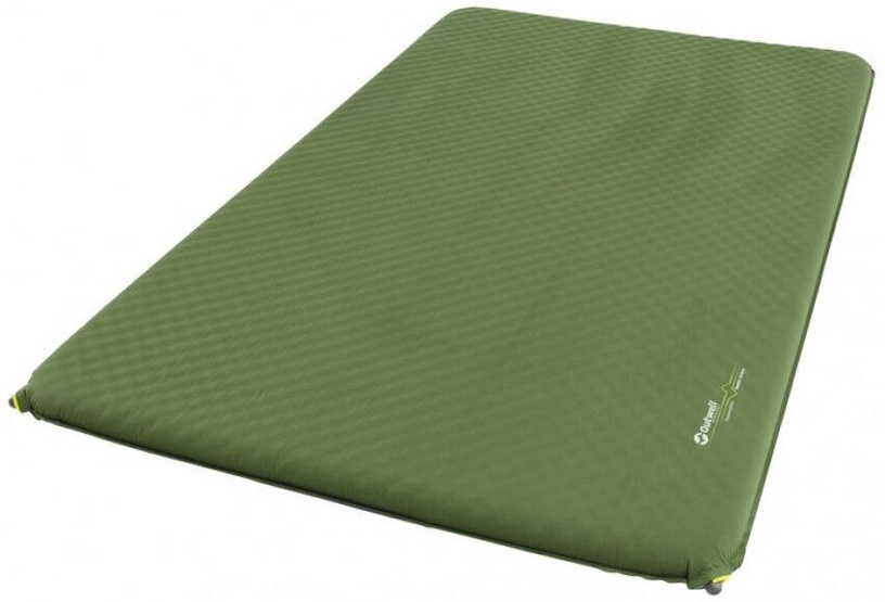 Madrats Outwell Dreamcatcher Double Self-inflating Mat Green 10cm