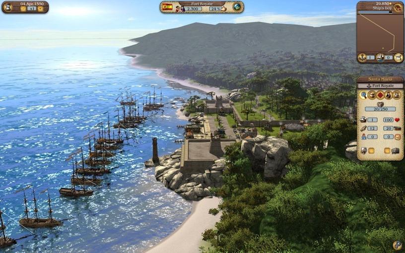 Port Royale 3: Pirates and Merchants PC