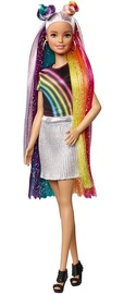 Mattel Barbies Rainbow Sparkle Hair Doll FXN96
