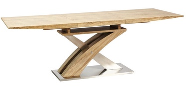 Signal Meble Raul Dining Table Sonoma Oak 140x85cm