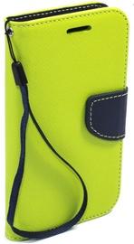 Telone Fancy Diary Bookstand Case Samsung Galaxy S5 Light Green/Blue