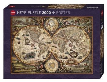 Dėlionė Heye Ancient World, 2000 dalių