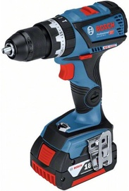 Bosch GSB 18V-60 C Cordless Impact Drill with Accessories