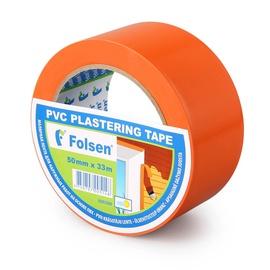 Krāsotāju līmlente PVC 50mmx33m oranža