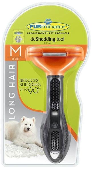 Furminator Deshedding Tool Long Hair Medium