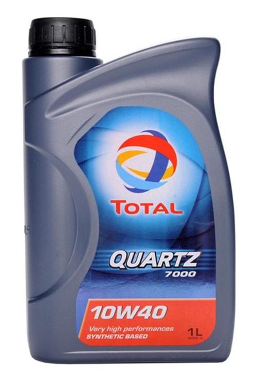 Automobilio variklio tepalas Total Quartz 7000, 10W-40, 1 l