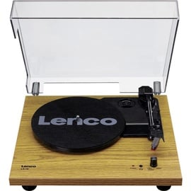 Lenco LS-10 Turntable With Build In Speakers Wood