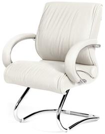 Lankytojų kėdė Chairman 445 Leather White