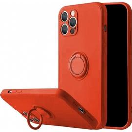 Чехол Mocco Pastel Ring For Xiaomi Redmi Note 9 Pro, красный
