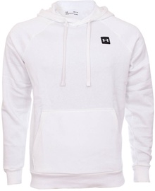 Under Armour Mens Rival Fleece Hoodie 1357092-112 White L
