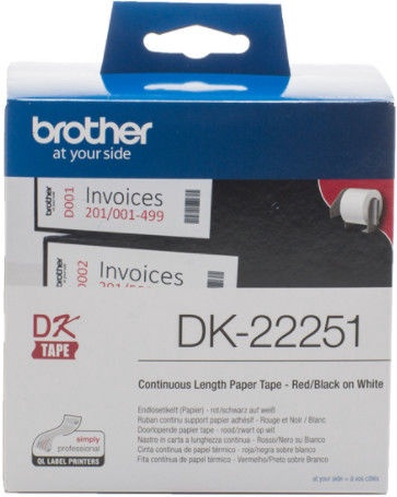 Этикет-лента для принтеров Brother DK-22251, 1500 см