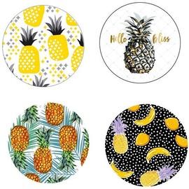 Mondex Molly Magnets Set Pineapple 24pcs