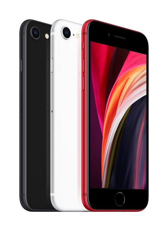 Mobilusis telefonas Apple iPhone SE 2020 Black, 64 GB