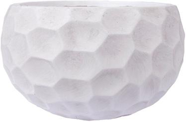 Home4you Flower Pot Cubo-1 D54xH27cm White