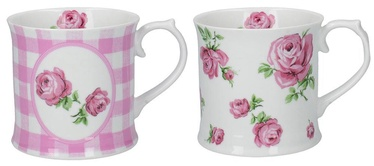 Creative Tops Vintage Rose Cups 420ml 2pcs