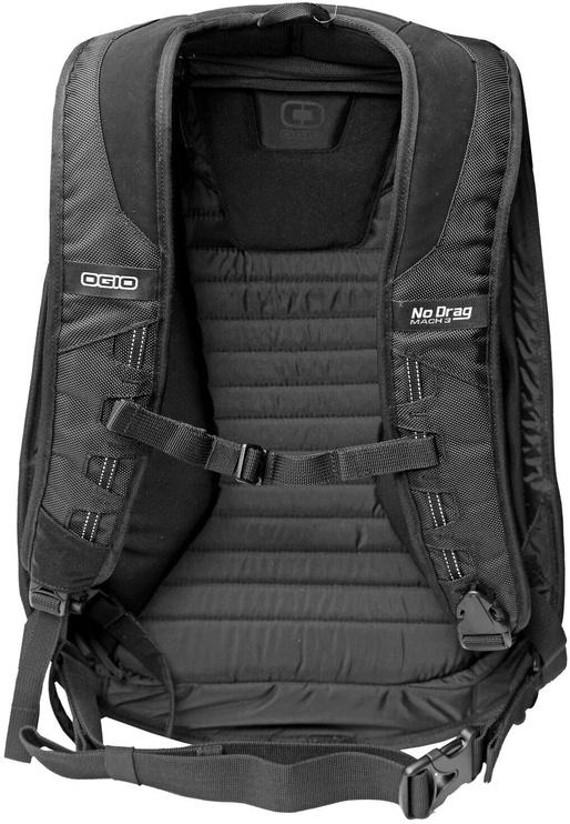 Ogio Mach 3 No Drag Motorcycle Backpack Black
