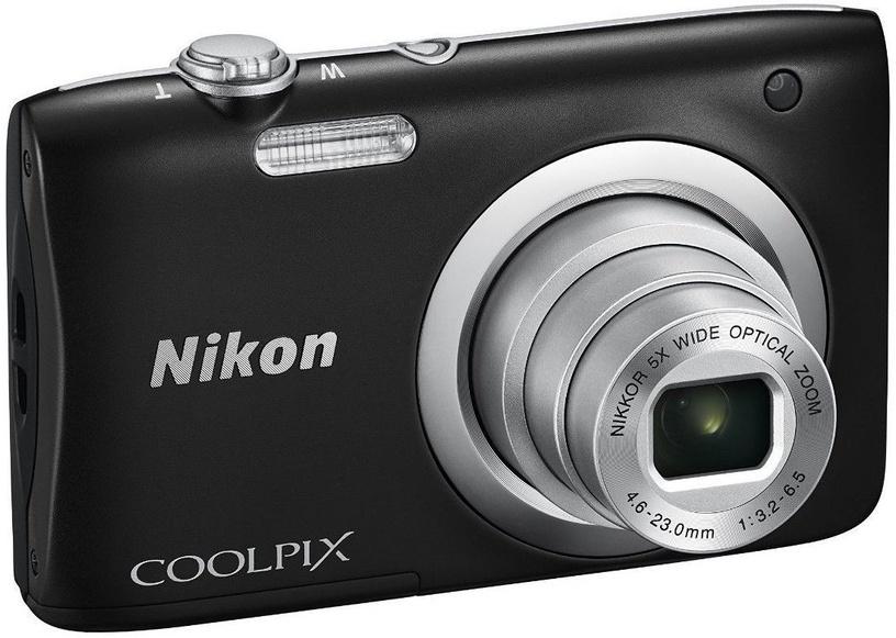 Nikon Coolpix A100 Black + Card 4GB + Case