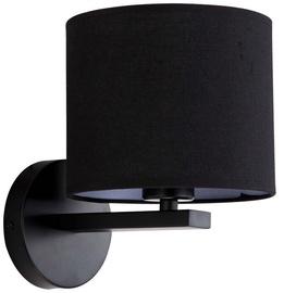 Light Prestige Cecina E27 40W Wall Lamp Black