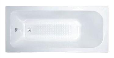 Vanna Thema Lux XD1032, 170x70x55 cm, balta, + kājas
