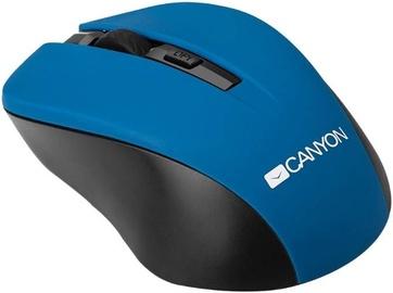 Kompiuterio pelė Canyon CNE-CMSW1 Blue, bevielė, optinė