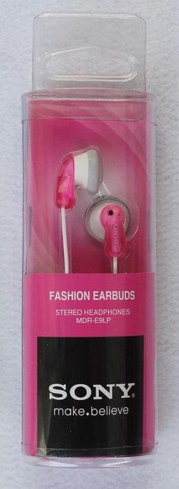 Ausinės Sony MDR-E9LP Pink