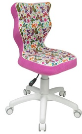 Детский стул Entelo ST31 White/Pink, 370x350x830 мм