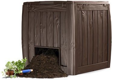 Keter Deco Composter 340L with Base Brown