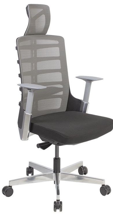 Biroja krēsls Home4you Spinelly Black/Grey