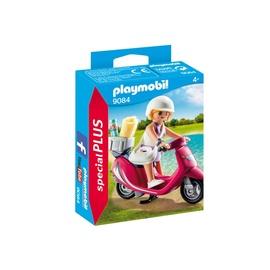 Konstruktorius Playmobil, Mergaitė su motoroleriu, 9084
