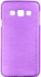 Forcell Jelly Brush Pearl Back Case For Samsung Galaxy A5 A510F Violet
