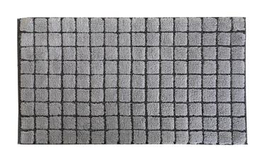 Vannas istabas paklājs Saniplast Plaza Perla, pelēka, 1100x600 mm