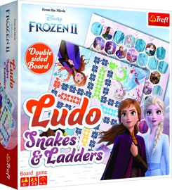 Stalo žaidimas Trefl Frozen II Ludo/Snakes & Ladders 01756