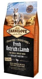 Сухой корм для собак Carnilove Adult Dog Small Breeds Fresh Ostrich & Lamb 6kg