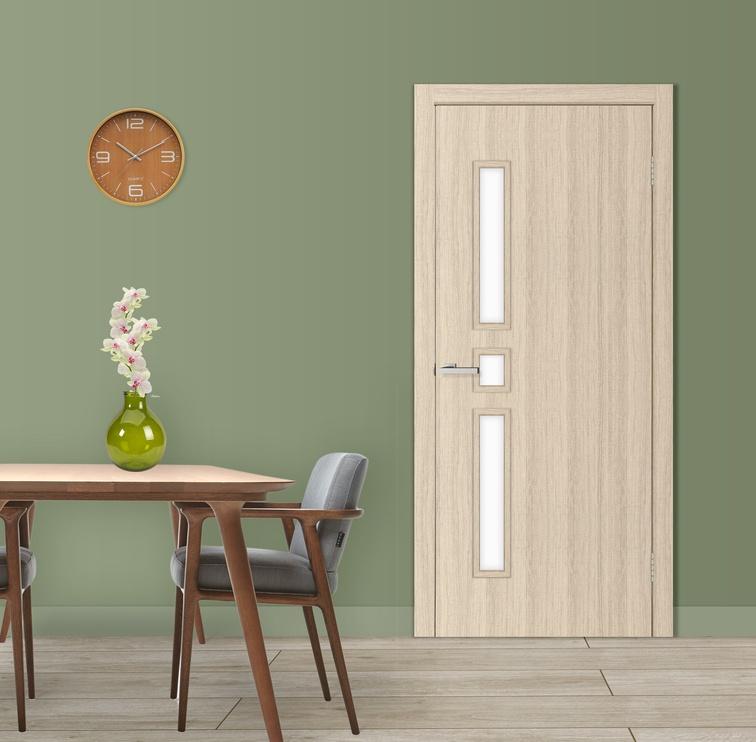 Полотно межкомнатной двери Omic Door Comfort Bleached Oak 600x2000mm