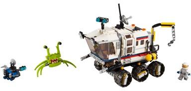Конструктор LEGO® Creator 31107 Исследовательский планетоход
