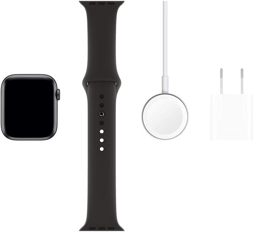 Išmanusis laikrodis Apple Watch Series 5, juoda/pilka