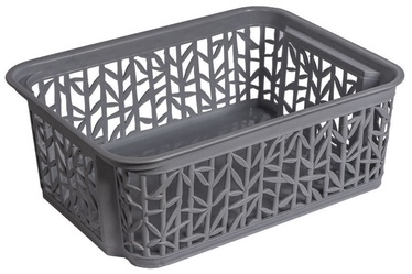 BranQ Basket Bamboo Dark Gray 23