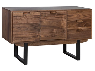 Home4you Chest Of Drawers Soho Walnut